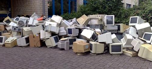 PC Schrott Entsorgun