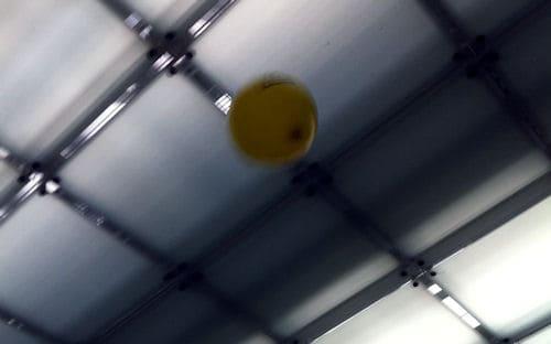 mit Luftballons im Vorlesungsraum spielen :D