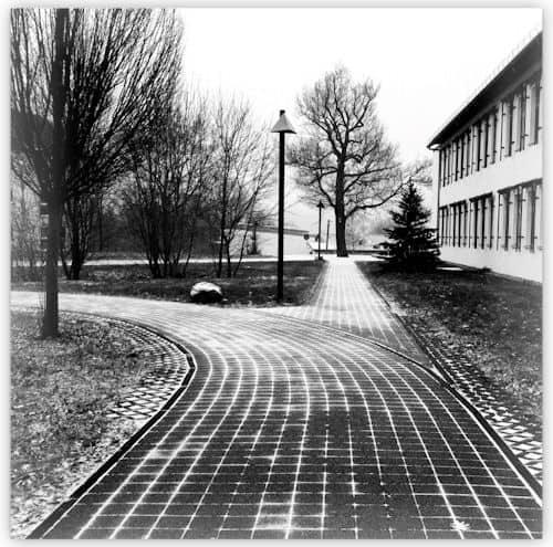 Campus im Januar