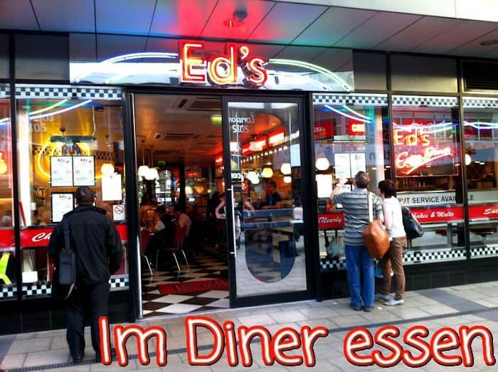 London 2012 Essen im Eds Diner