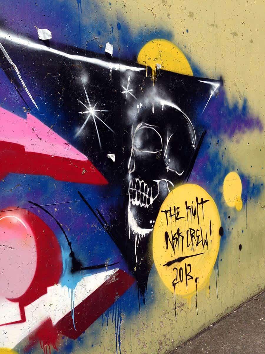 Raketenbasis Graffiti