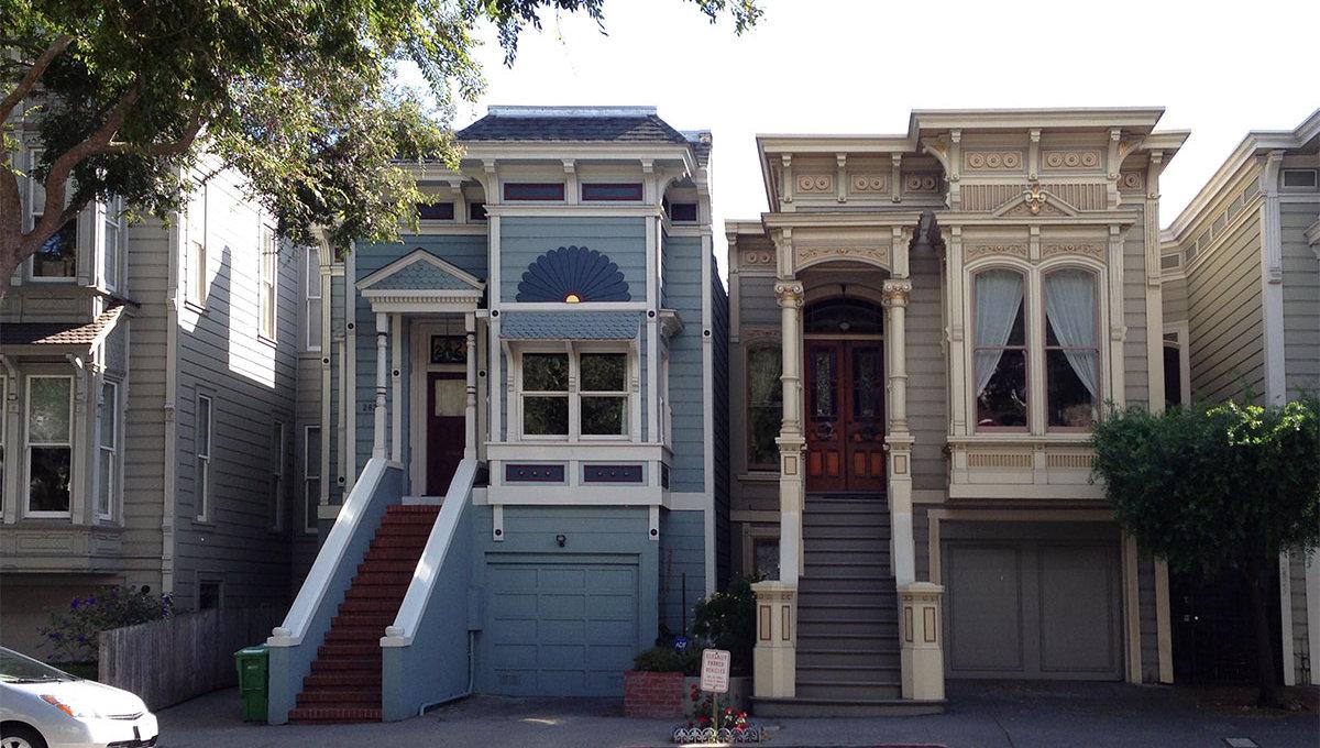 San Fransico Painted Ladies