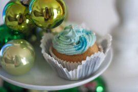 Frozen Cupcakes Glitter