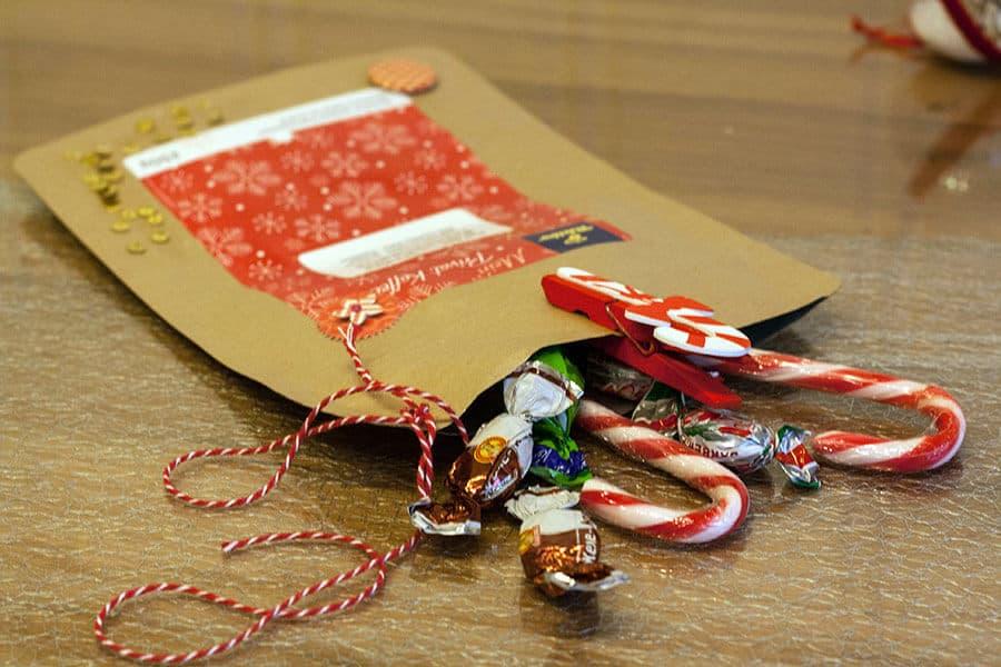 tchibo Geschenktasche Sweets