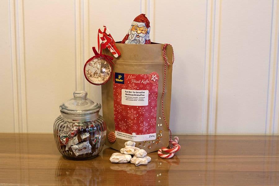 tchibo Geschenktasche Sweets Nikolaus
