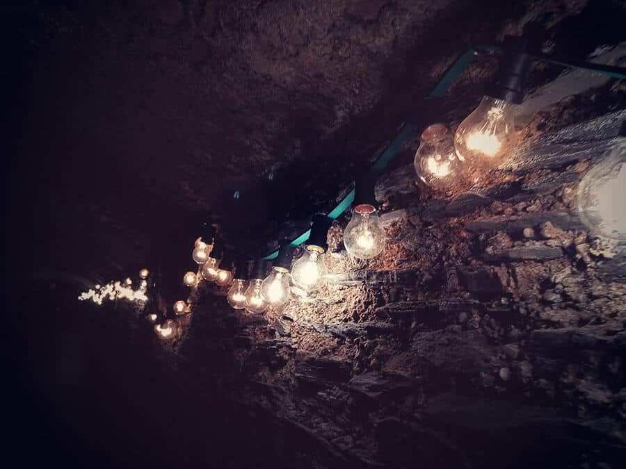 Wein-Nachts-Markt Lichter