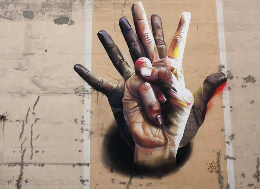 Grafitti Hand
