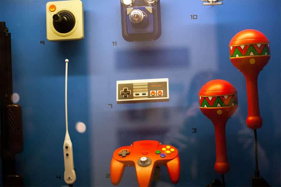 Computerspiele Museum Berlin Controller