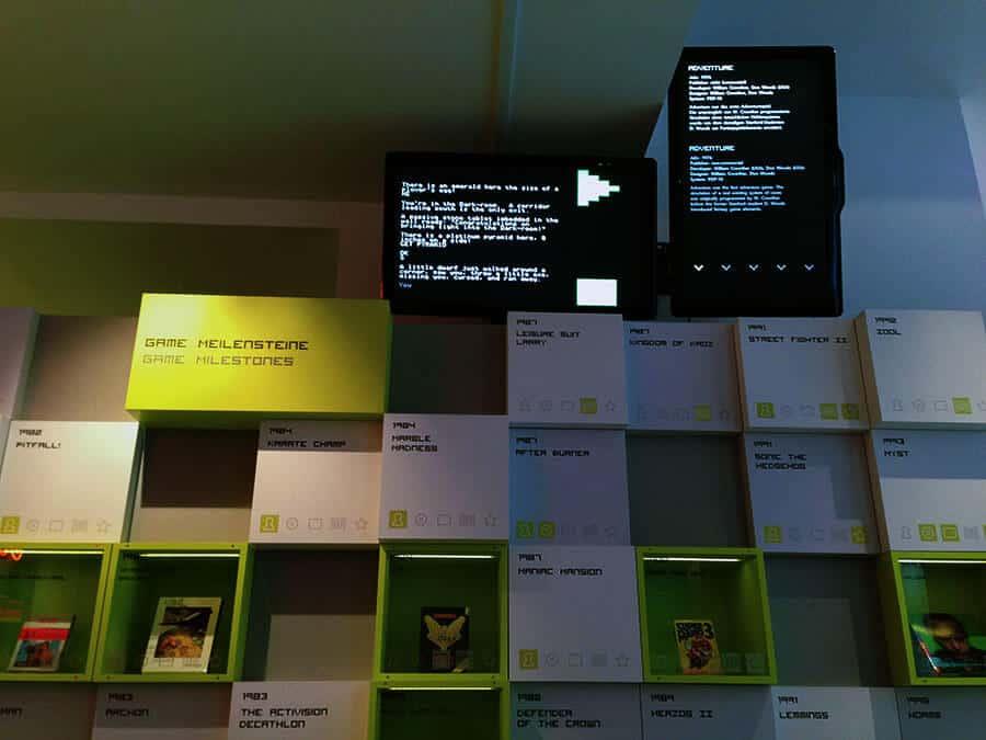 Computerspiele Museum Berlin Videowall