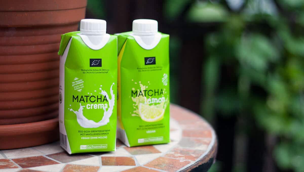 Matcha-Eistee von TeeGschwendner