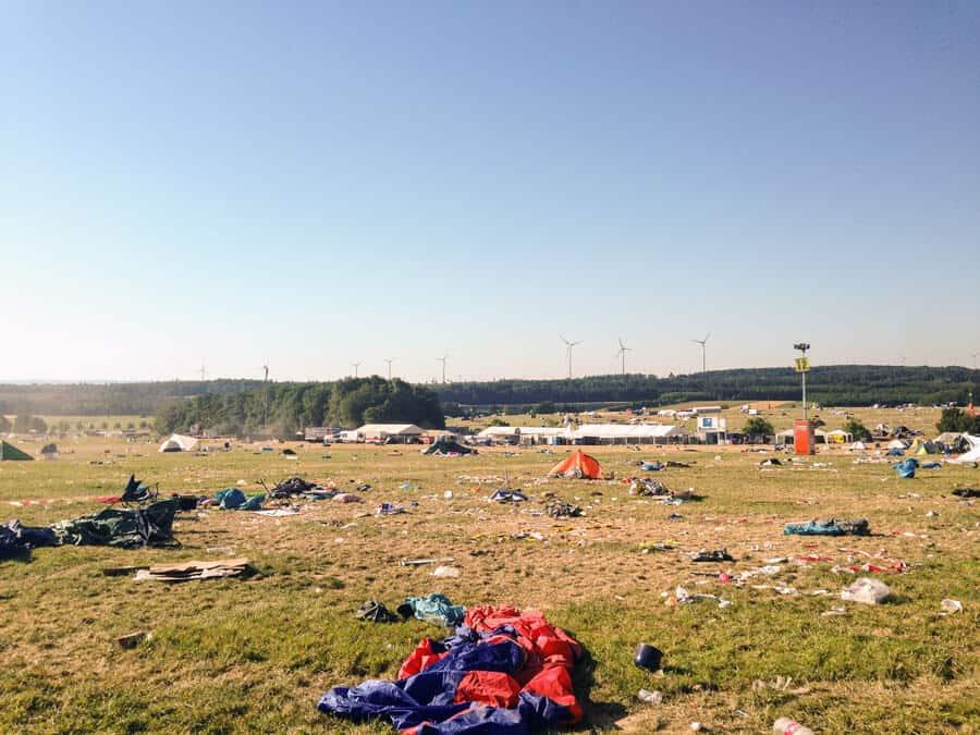Campingplatz Nature One