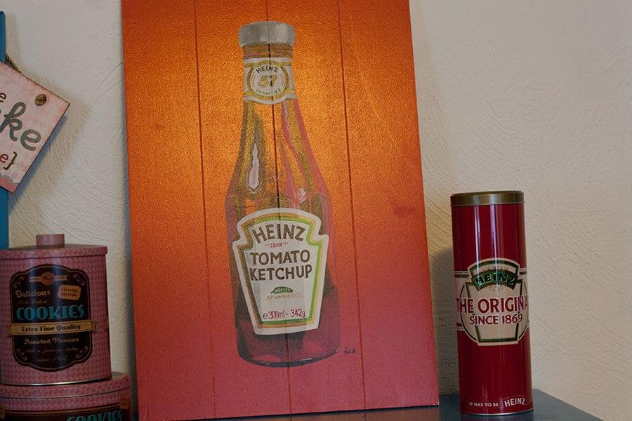 Heinz Tomato Bild mit Blechdose