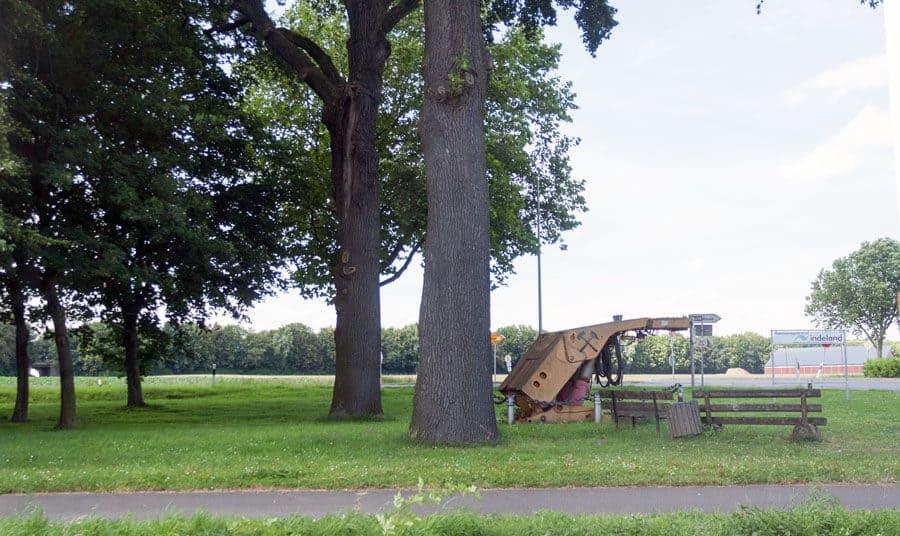 Tankstopp in Aldenhoven