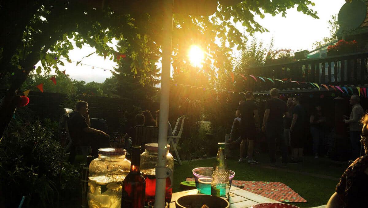 30. Geburtstag im Garten