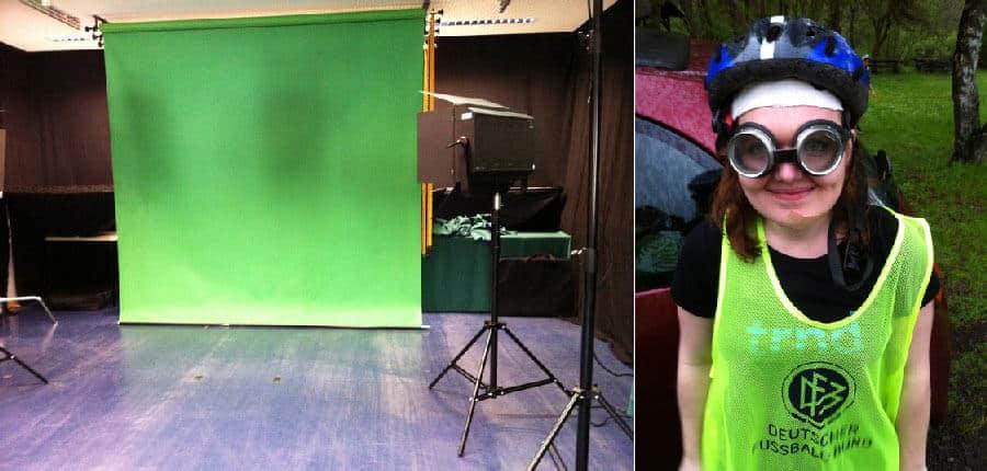 Filmproduktionen am Campus