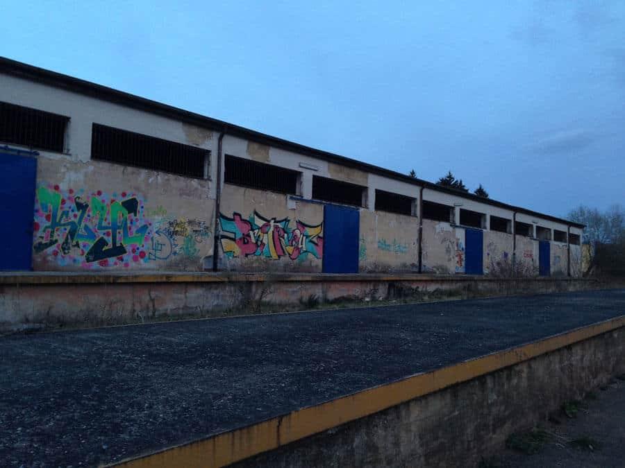 der alte Bahnhof am Umwelt-Campus