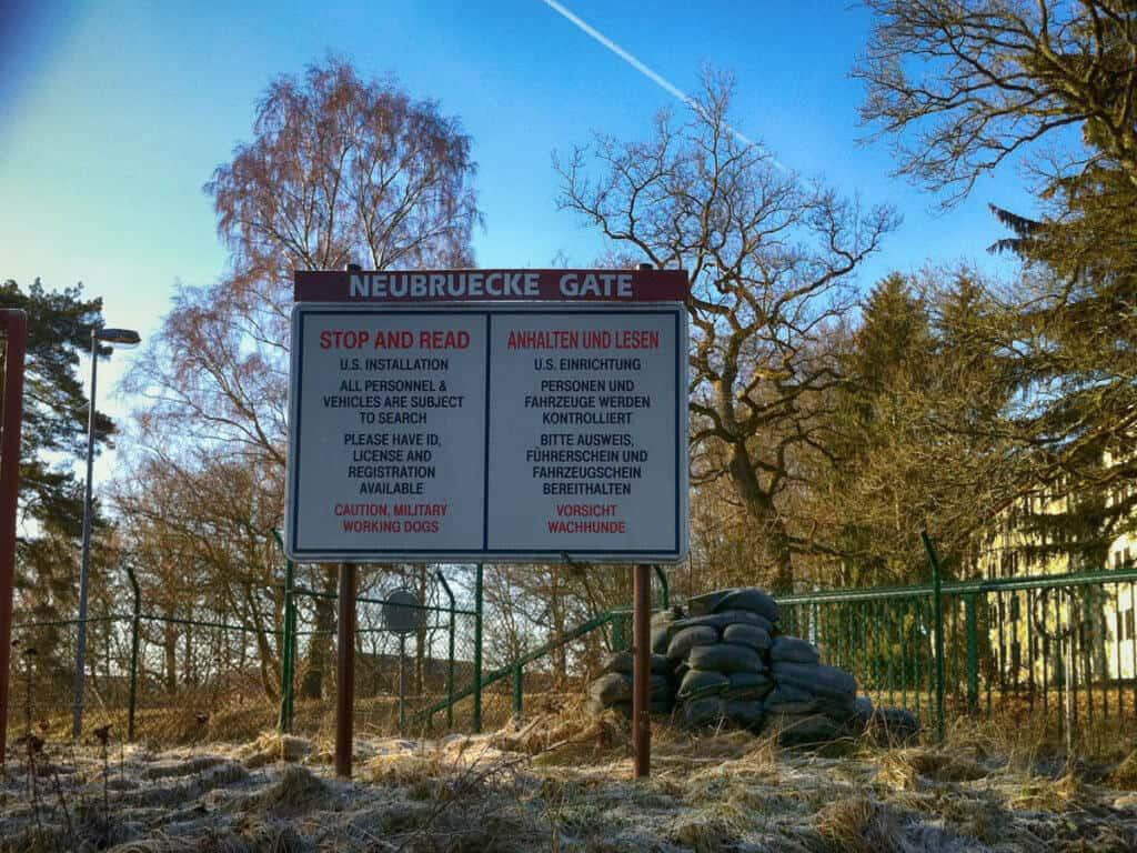 Umwelt-Campus - Neubruecke Gate
