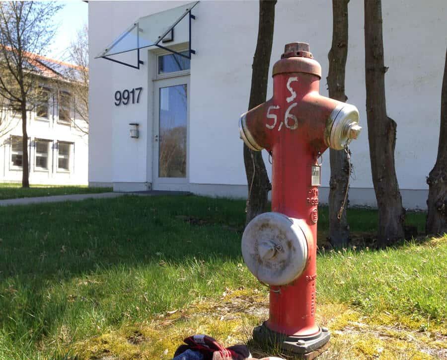 Wasserhydrant am Umwelt-Campus