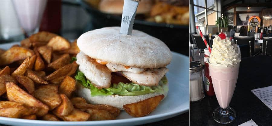 Folsom Prison Diner Burger
