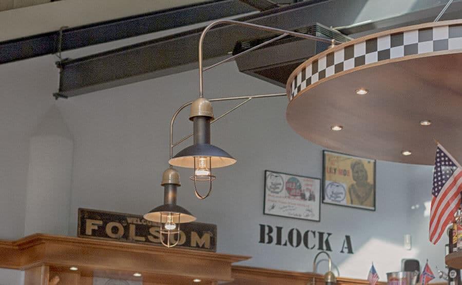 Folsom Prison Diner Deko