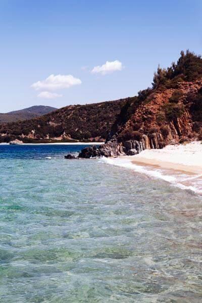 Schönster Strand in Sithonia