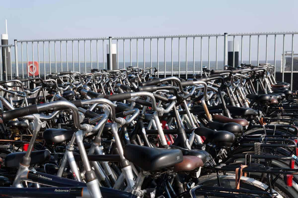 Fahrräder auf Ameland