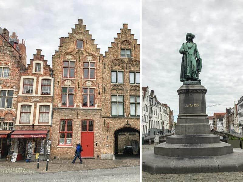 Statue Brügge