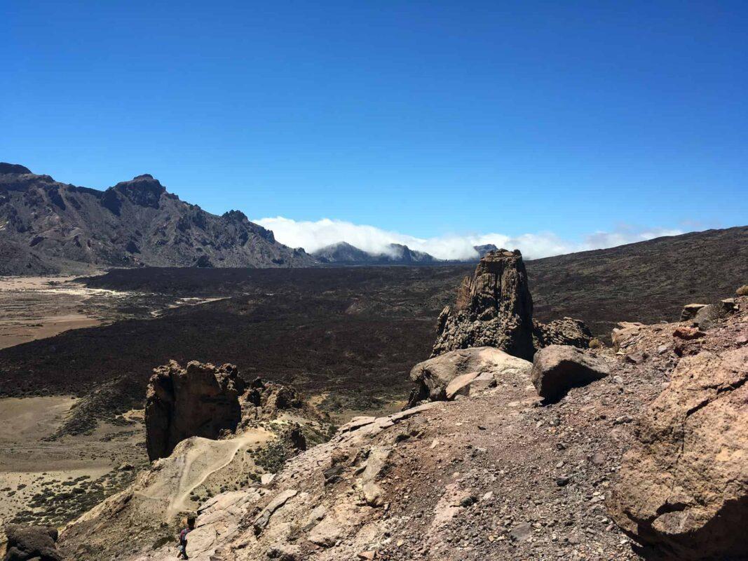 Blick auf den Vulkan Teide